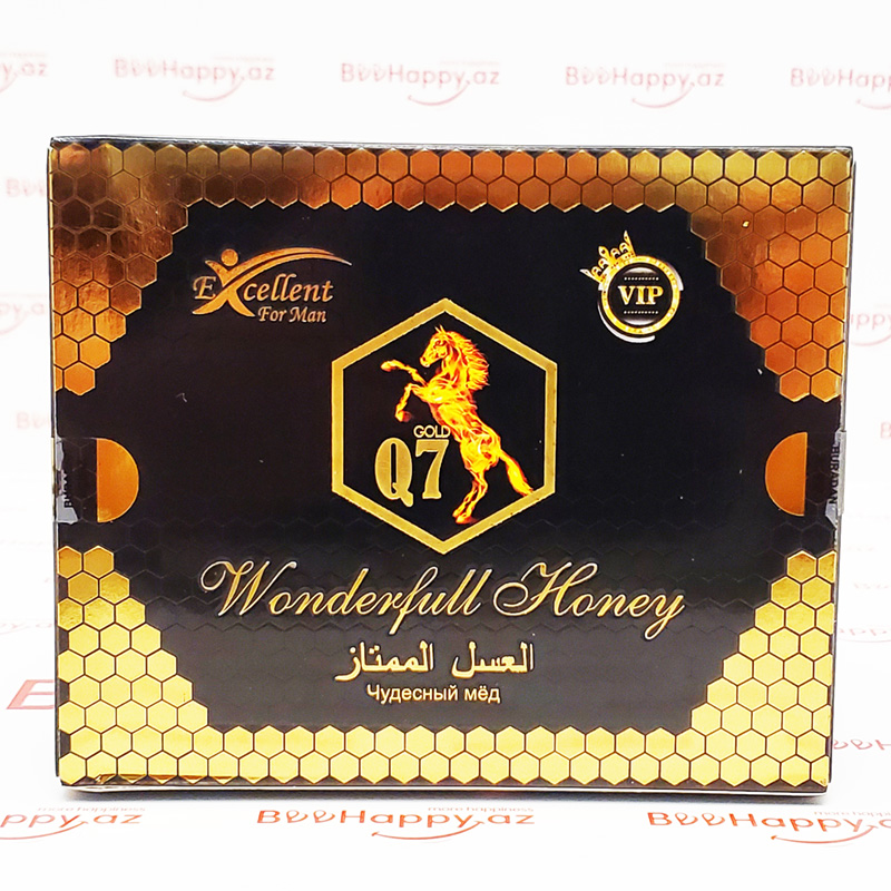 Q7 Wonderful Honey N12 - Geciktdrici və Maksimal ereksiya macunu
