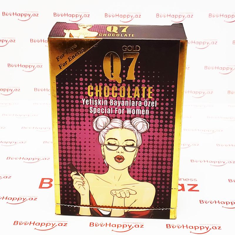 Q7 Chocolate N12 - Qadın üçün ehtiras şokoladı