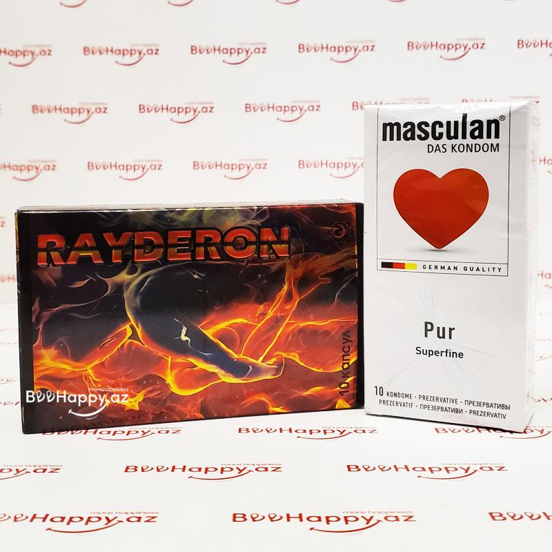 Rayderon N10 + Masculan Pur Hədiyyə