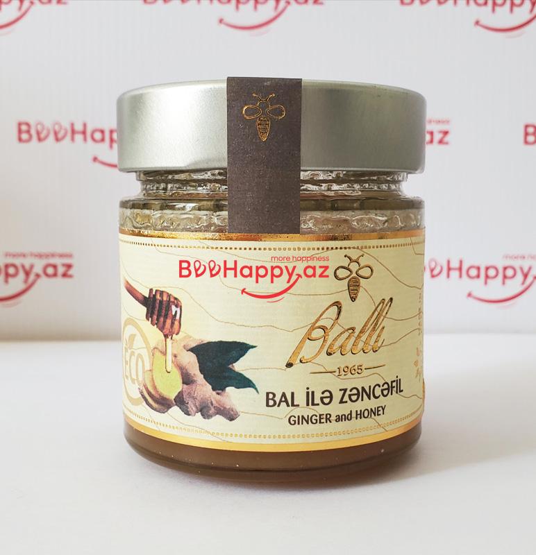Ballı -  Bal ilə Zəncəfil 212ml