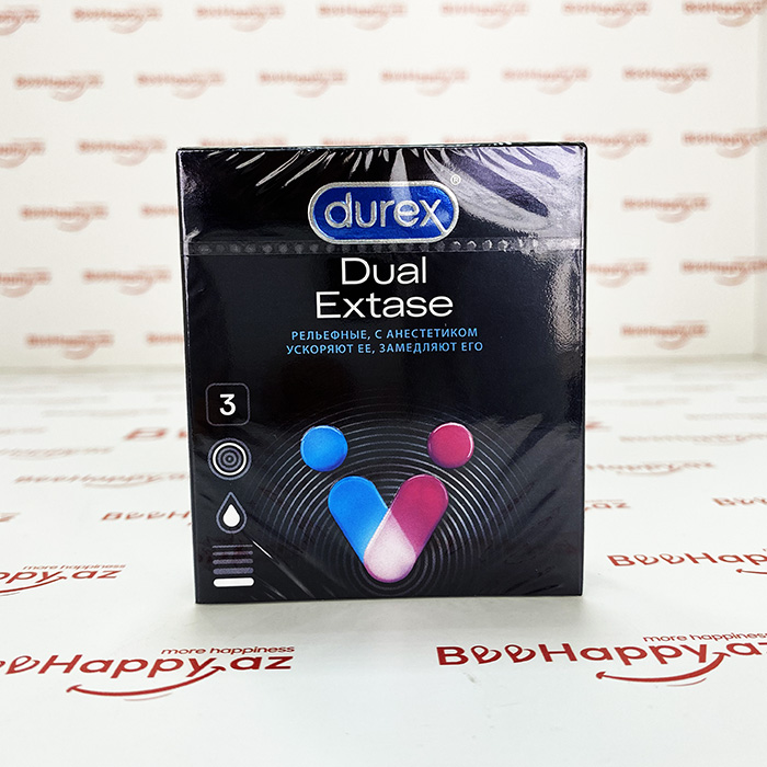 Durex Dual Extase N3