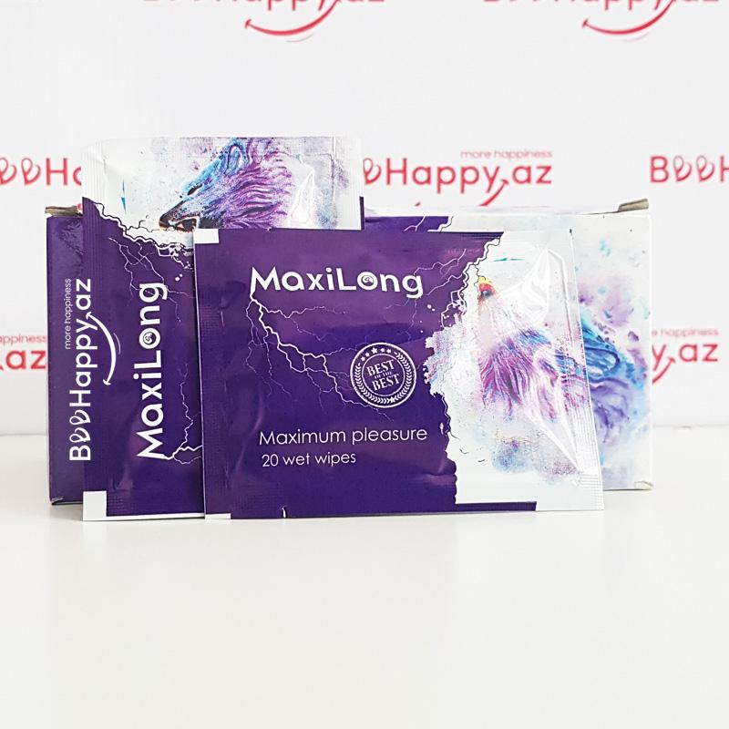 MaxiLong N1 - Gecikdirici salfet