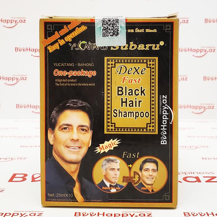 Black Hair Shampoo - Saçqaraldıcı şampun