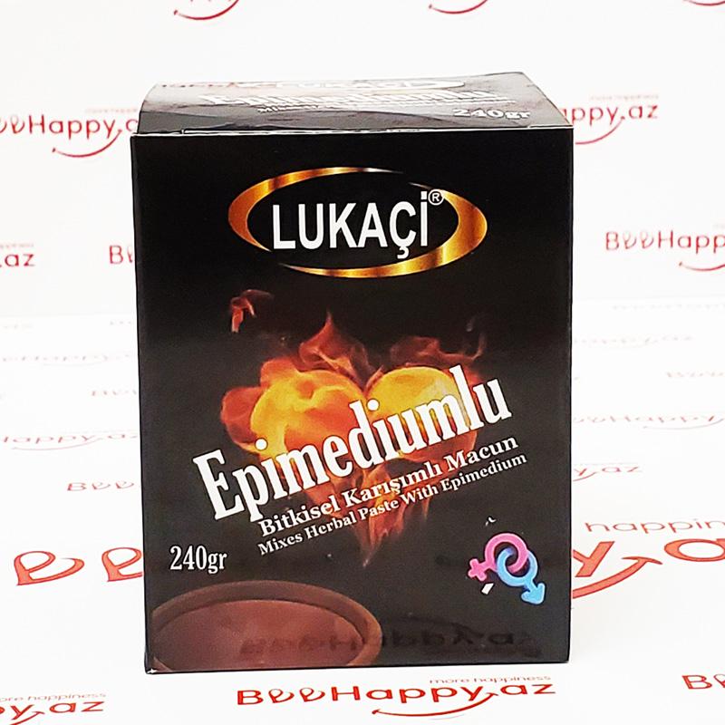 Lukaçi 240gr - Epimedyumlu Macun