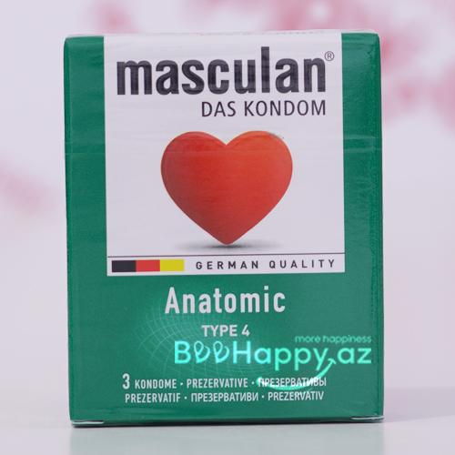 Masculan Anatomic  N3